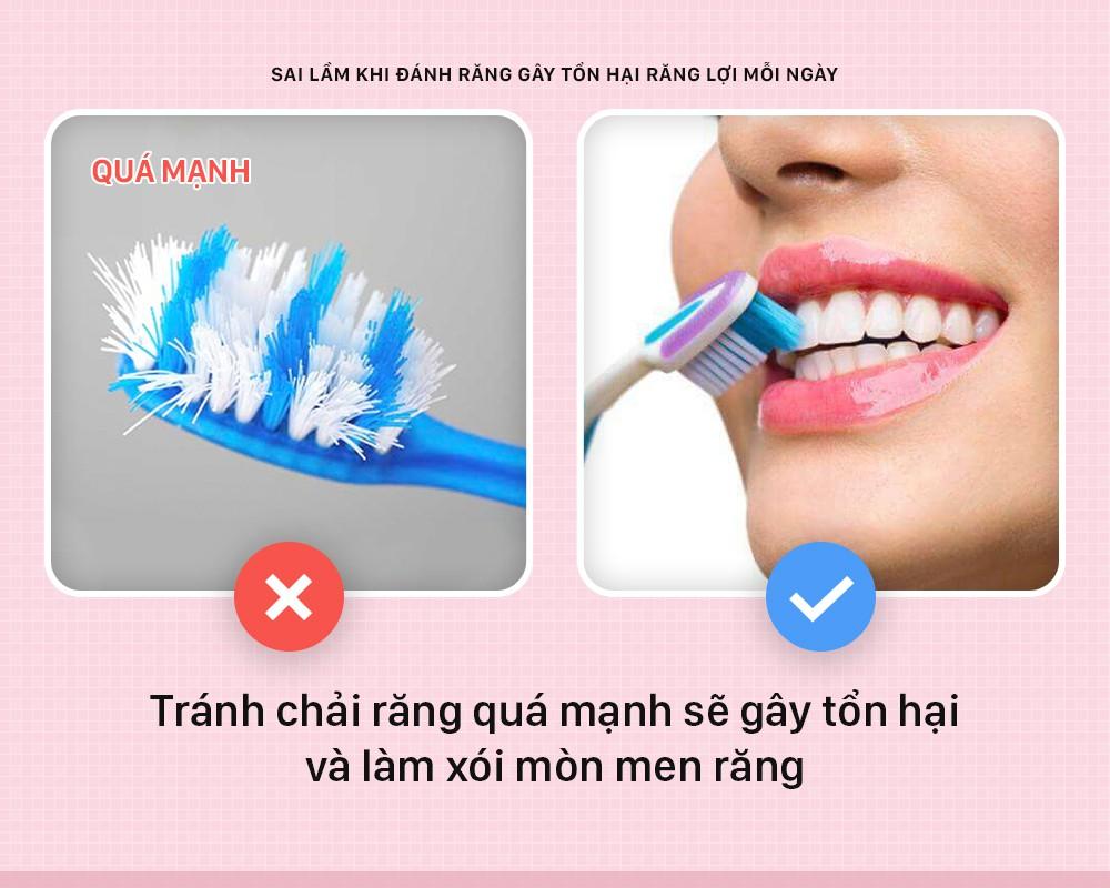 Đánh răng mà cứ mắc phải những sai lầm này thì bảo sao răng lợi ngày một yếu hơn - Ảnh 5.