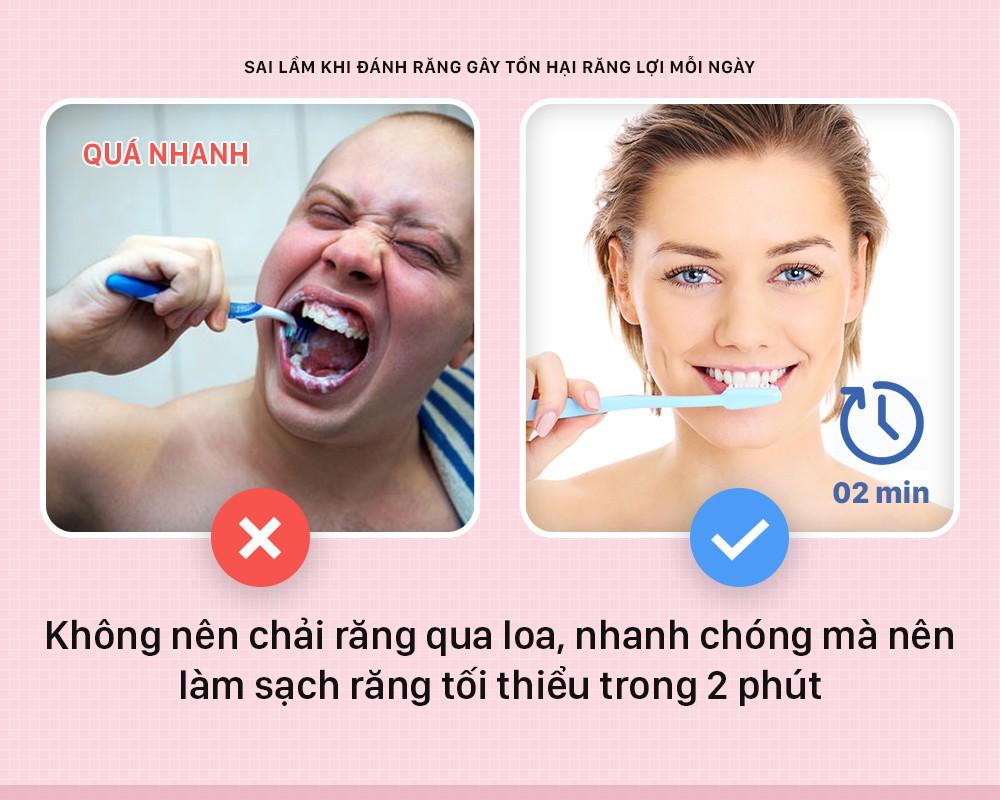Đánh răng mà cứ mắc phải những sai lầm này thì bảo sao răng lợi ngày một yếu hơn - Ảnh 7.