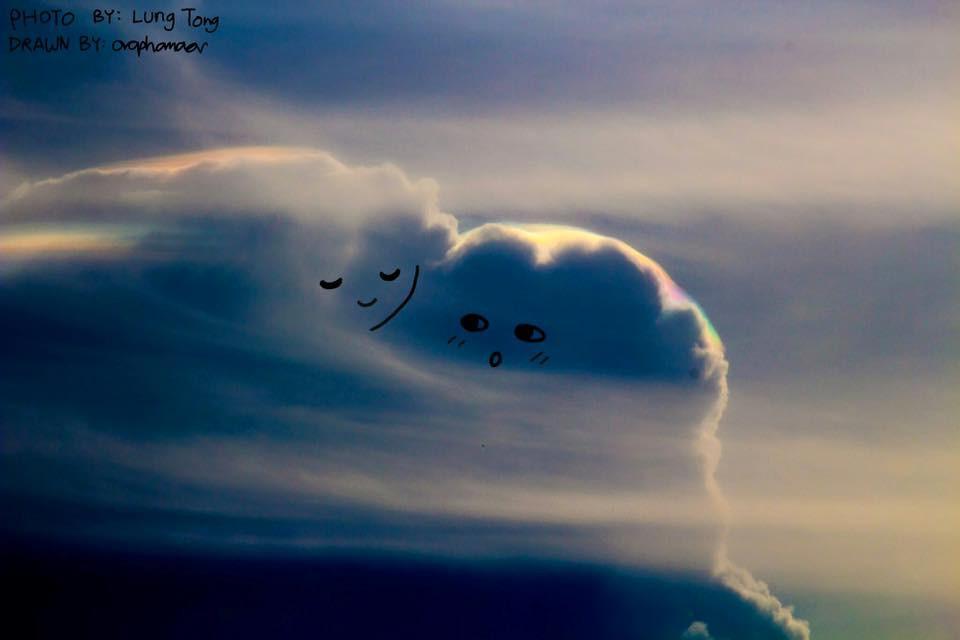 Danh tính tác giả của những bức vẽ đám mây cực dễ thương đang gây sốt MXH - Ảnh 5.
