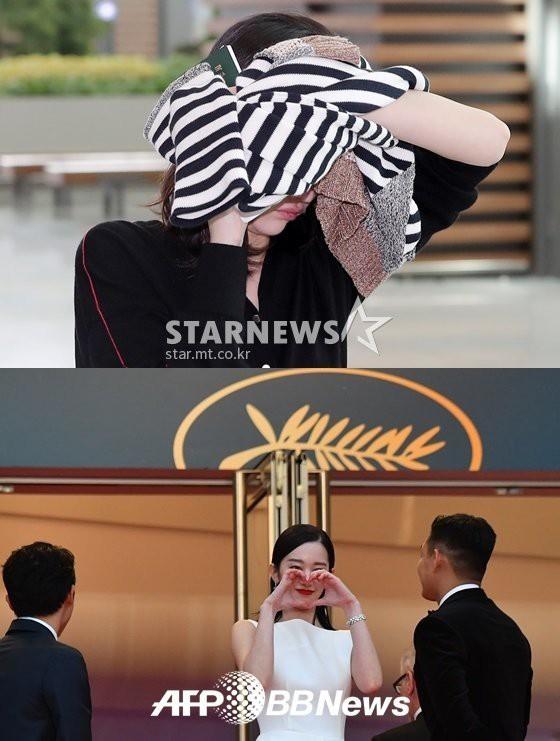 Bức ảnh bị công chúng Hàn ném đá nhiều nhất tại Cannes: Bộ 3 dính bê bối thái độ nhưng cười tươi như không - Ảnh 5.