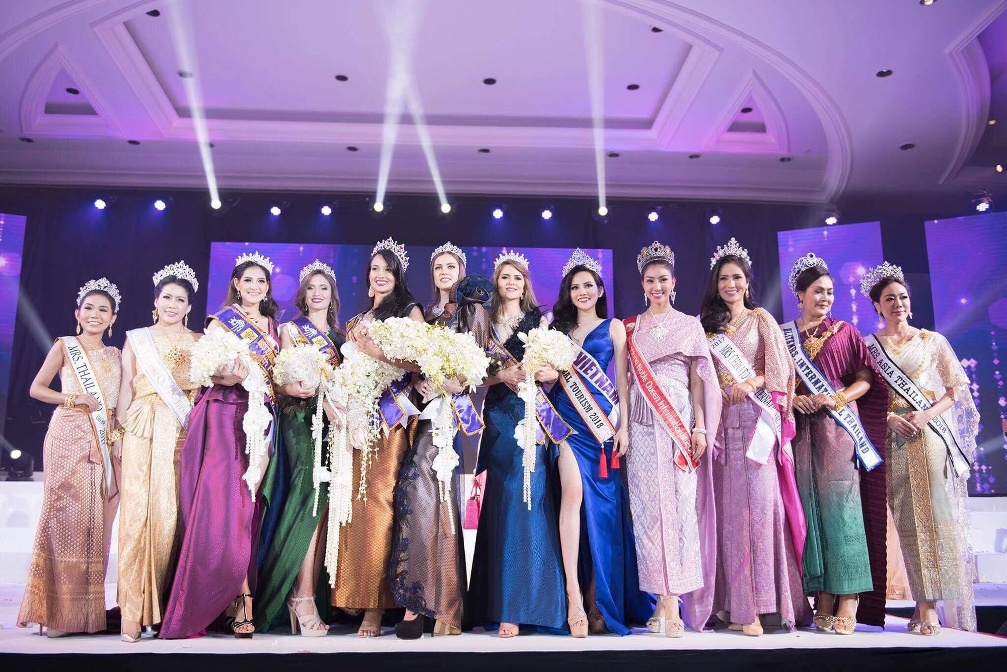 Người đẹp Brazil đăng quang Nữ hoàng Du lịch Quốc tế 2018, đại diện Việt Nam dừng chân ở Top 10 - Ảnh 1.