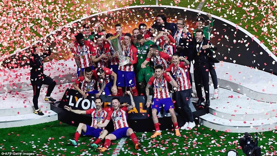 Griezmann chói sáng, Atletico lần thứ ba vô địch Europa League - Ảnh 20.