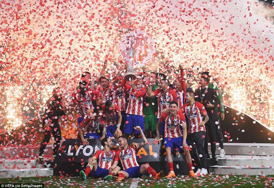 Griezmann chói sáng, Atletico lần thứ ba vô địch Europa League - Ảnh 12.