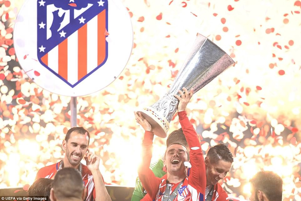 Griezmann chói sáng, Atletico lần thứ ba vô địch Europa League - Ảnh 2.
