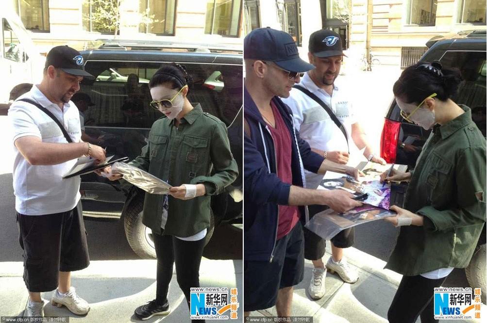 Chăm da chẳng kém Phạm Băng Băng, Katy Perry đã đạt đến cảnh giới: ra đường cũng đắp mặt nạ - Ảnh 1.