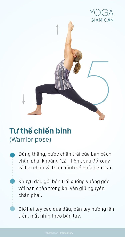5 động tác yoga giảm cân toàn thân cực kỳ hiệu quả có thể thực hiện ngay tại nhà - Ảnh 13.