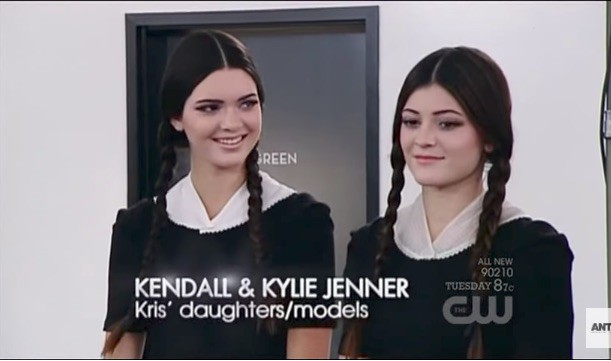 Kendall Jenner And Kylie Jenner Americas Next Top Model The gallery for...