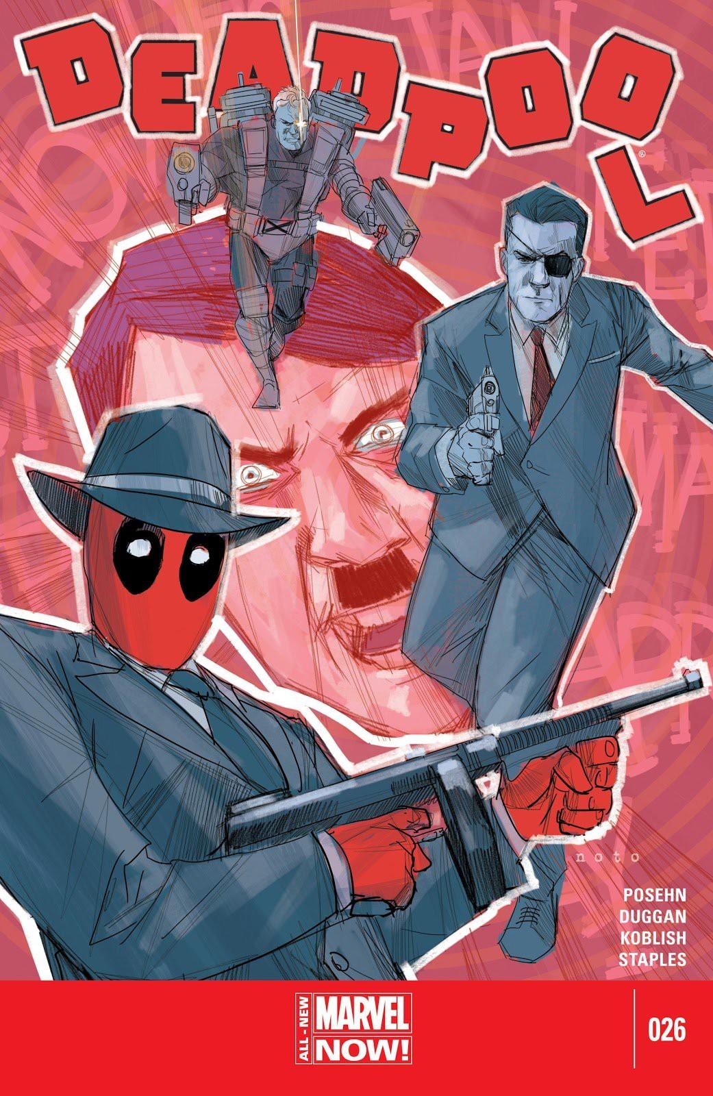 After-credit của Deadpool 2 suýt có cảnh em bé Hitler và đá đểu Captain America Chris Evans - Ảnh 3.