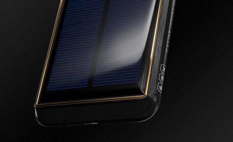 Xuất hiện iPhone X Tesla giá gần tỷ đồng, có pin mặt trời lướt web cả ngày không lo hết - Ảnh 3.