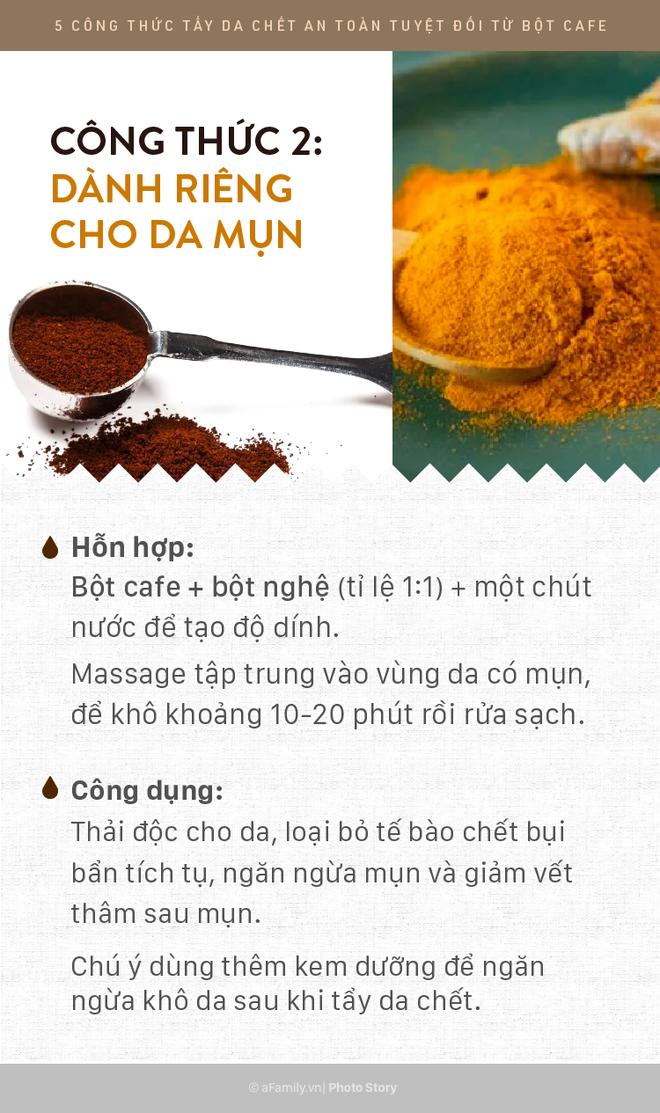 5 công thức tẩy da chết rẻ bèo mà siêu lành tính bằng bột cafe giúp da mịn màng xuyên suốt ngày hè - Ảnh 3.