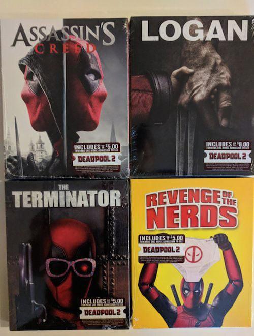 Deadpool đã xâm chiếm Walmart, giờ DVD nào cũng là phim Deadpool! - Ảnh 4.