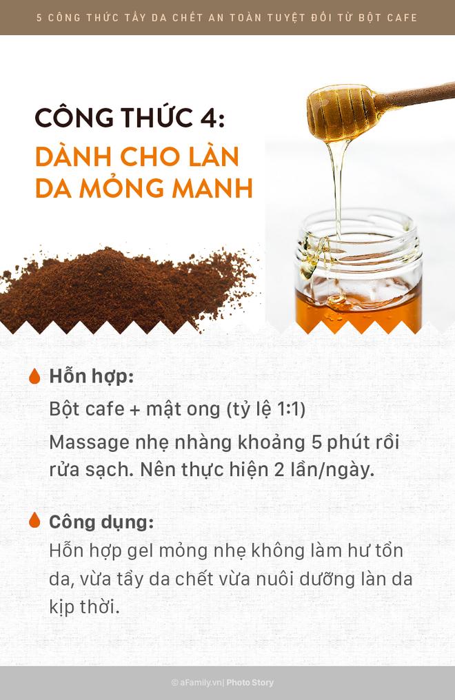 5 công thức tẩy da chết rẻ bèo mà siêu lành tính bằng bột cafe giúp da mịn màng xuyên suốt ngày hè - Ảnh 5.