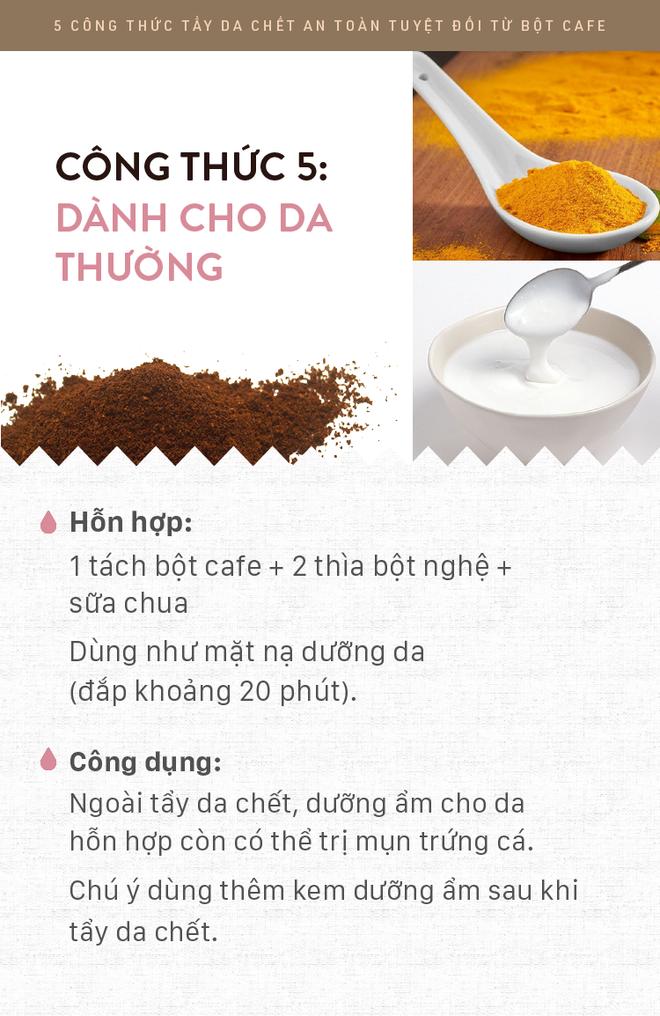 5 công thức tẩy da chết rẻ bèo mà siêu lành tính bằng bột cafe giúp da mịn màng xuyên suốt ngày hè - Ảnh 6.