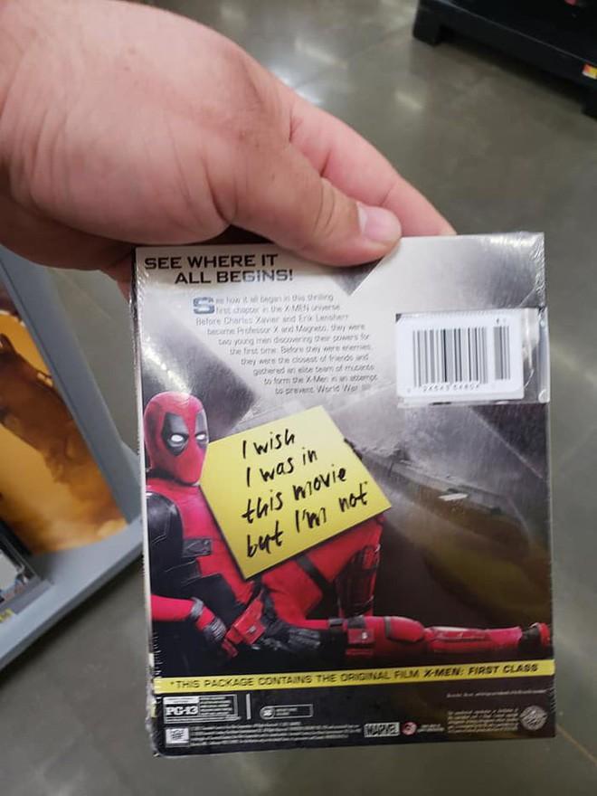 Deadpool đã xâm chiếm Walmart, giờ DVD nào cũng là phim Deadpool! - Ảnh 7.
