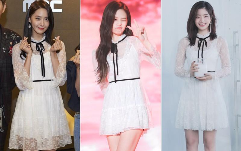 Khi 3 đại mỹ nhân của Big 3: Yoona (SM) – Jennie (YG) – Dahyun (JYP) cùng đụng hàng, liệu ai sẽ lép vế hơn ai? - Ảnh 7.