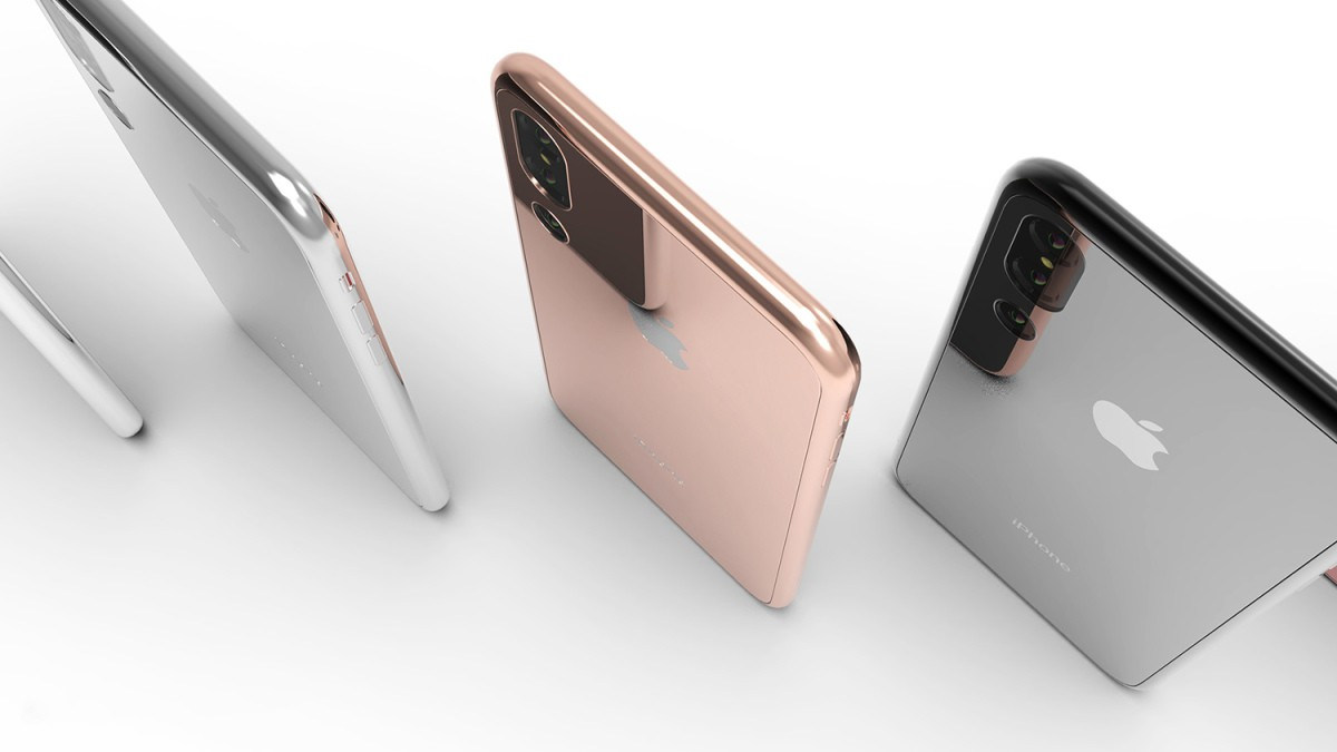 iPhone X Plus sẽ có 5 màu bóng lộn kiêu sa, 3 camera ở mặt sau? - Ảnh 1.