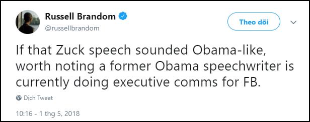 Mark Zuckerberg đạo nhái thần thái y hệt ông Obama khiến dân mạng hết lời khen ngợi - Ảnh 5.