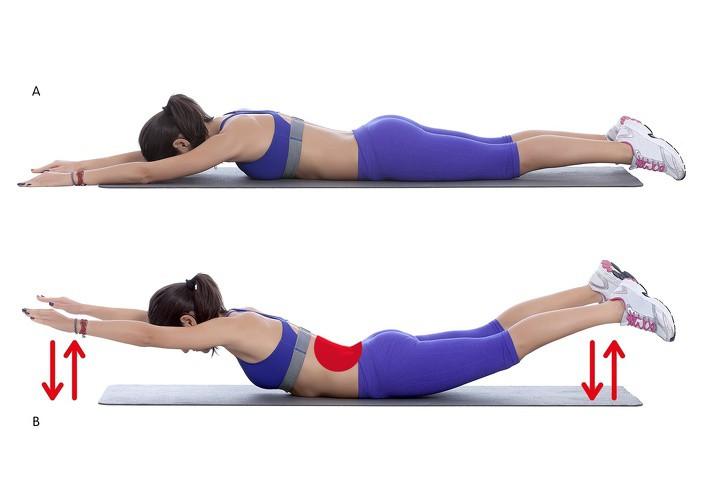 Mỡ lưng và nách cũng làm dáng xấu đi rất nhiều và đây là cách để loại bỏ - Ảnh 4.