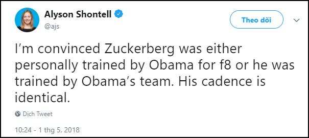 Mark Zuckerberg đạo nhái thần thái y hệt ông Obama khiến dân mạng hết lời khen ngợi - Ảnh 7.