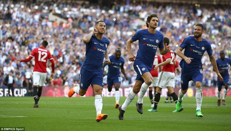 Dàn sao Man Utd thất thểu, cay đắng nhìn Chelsea vô địch FA Cup - Ảnh 8.