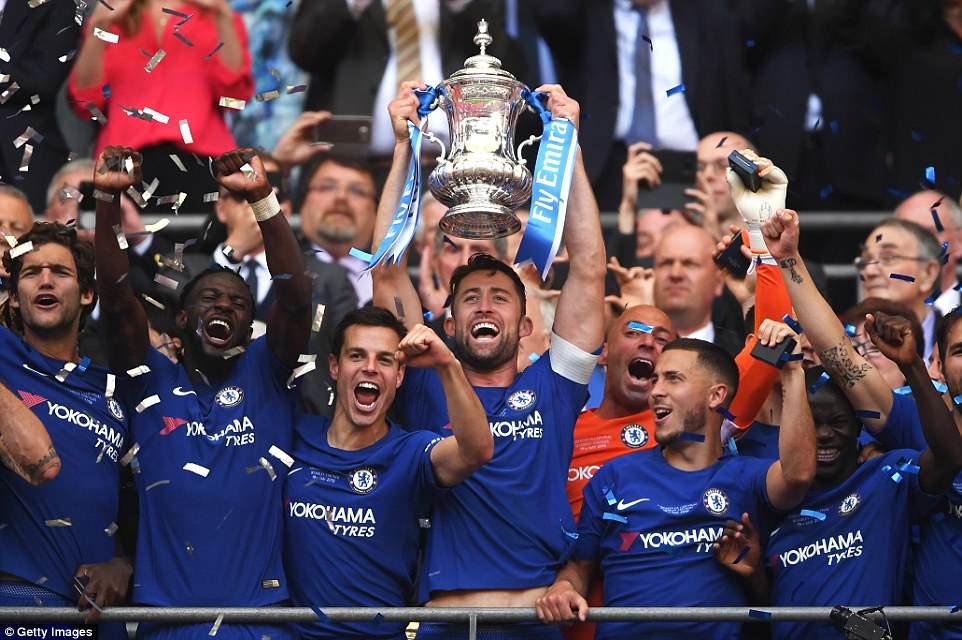Chelsea hạ Man Utd, vô địch FA Cup - Ảnh 3.