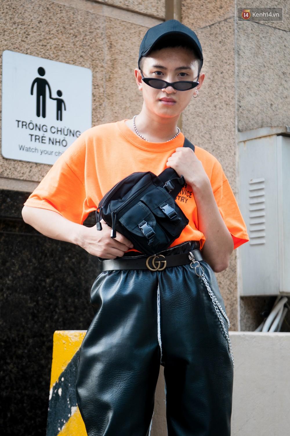 Street style 2 miền tuần qua đã chứng minh: sành điệu là phải diện kính mắt tí hon và mũ chống nắng - Ảnh 6.