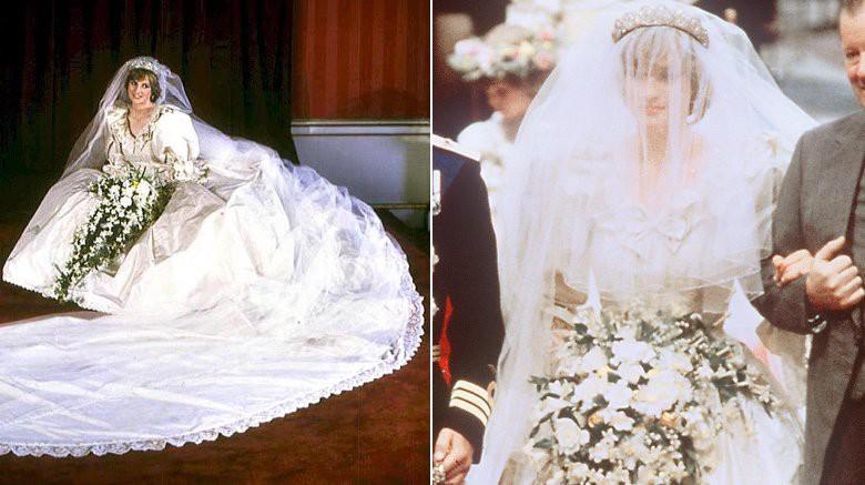 Những chiếc váy cưới đẹp nhất và đi vào lịch sử của Hoàng gia Anh - Ảnh 2.