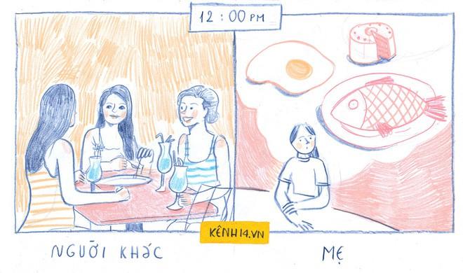 Một ngày của mẹ và một ngày của người khác: Cùng 24 tiếng đồng hồ mà sao khác nhiều đến thế - Ảnh 7.