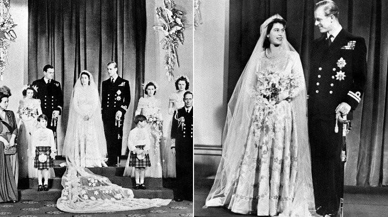 Những chiếc váy cưới đẹp nhất và đi vào lịch sử của Hoàng gia Anh - Ảnh 7.