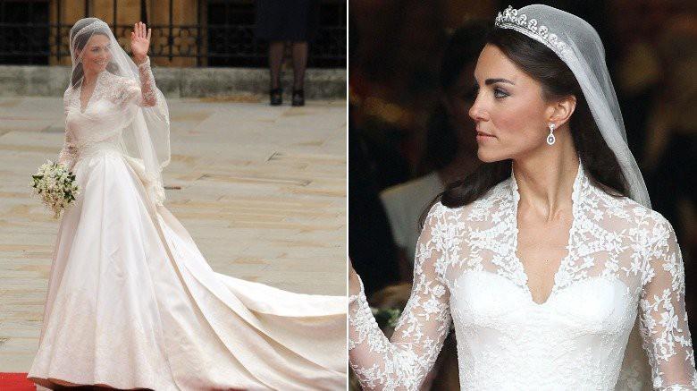 Những chiếc váy cưới đẹp nhất và đi vào lịch sử của Hoàng gia Anh - Ảnh 9.