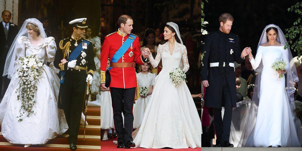 3 chiếc váy cưới nổi tiếng của Công nương Diana và hai cô con dâu xinh đẹp - Ảnh 1.