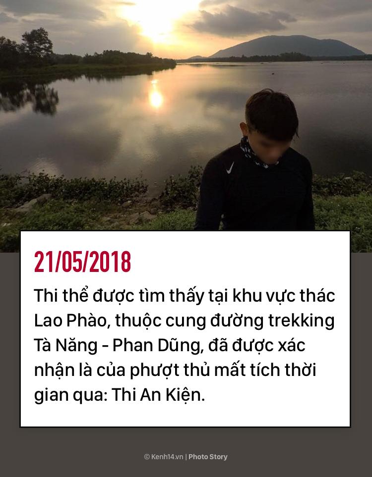 Hơn 8 ngày mất tích của Thi An Kiện trên cung đường trekking đẹp nhất Việt Nam - Ảnh 1.