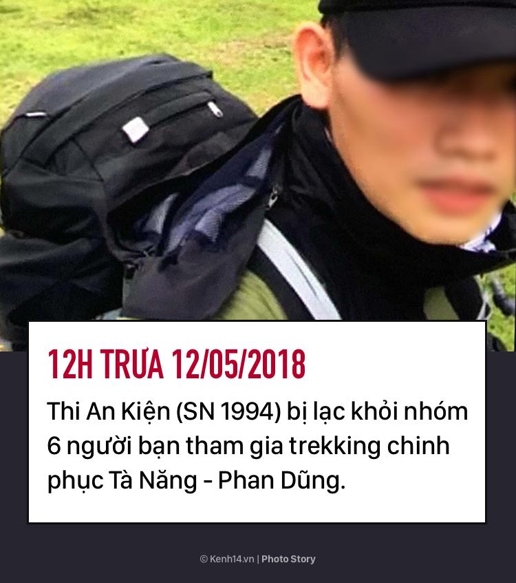 Hơn 8 ngày mất tích của Thi An Kiện trên cung đường trekking đẹp nhất Việt Nam - Ảnh 3.