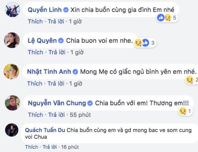 Nghệ sĩ Việt động viên, chia buồn khi hay tin mẹ Vy Oanh vừa qua đời - Ảnh 2.