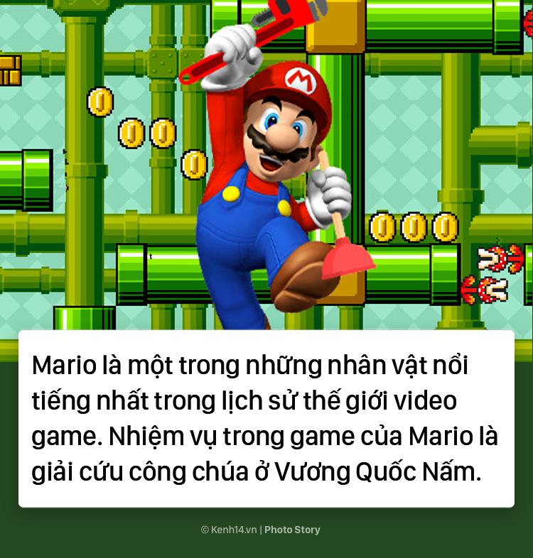 Bí mật về chiếc mũ đỏ và bộ ria mép của Mario - Ảnh 1.