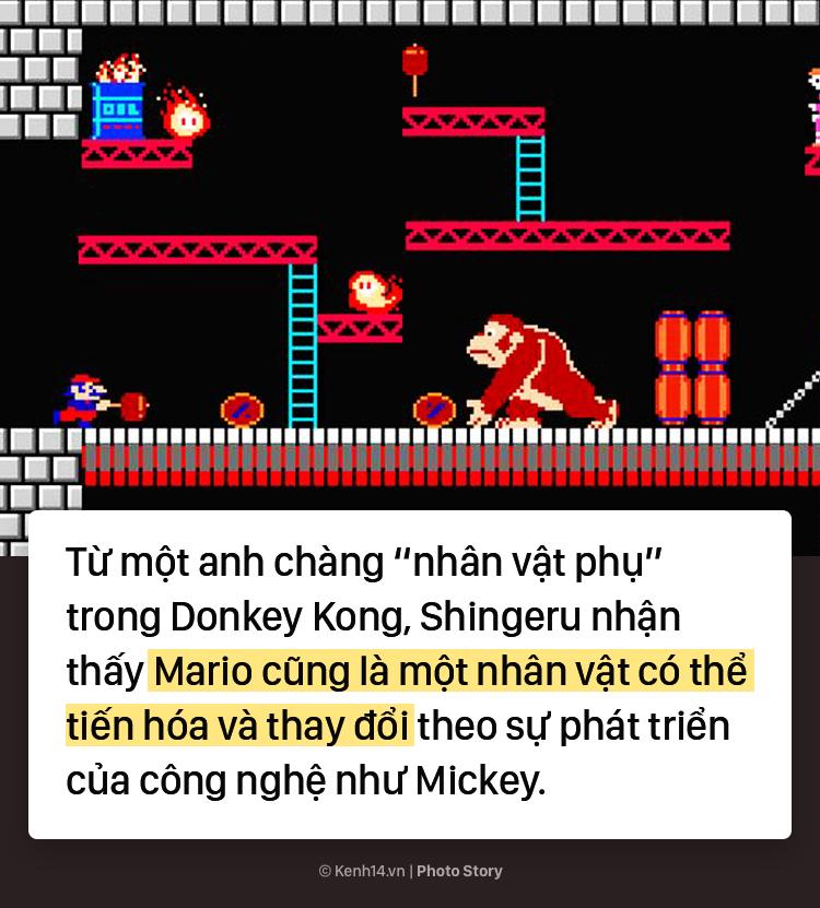 Bí mật về chiếc mũ đỏ và bộ ria mép của Mario - Ảnh 9.