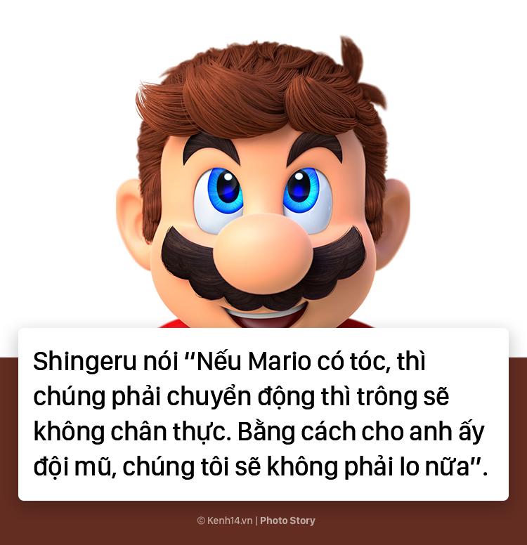 Bí mật về chiếc mũ đỏ và bộ ria mép của Mario - Ảnh 13.