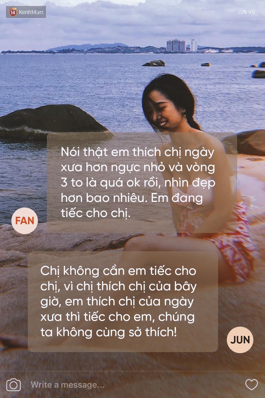 Khi hotgirl Việt không ngại xéo xắt với fan: một biển muối mặn mà là đây! - Ảnh 10.