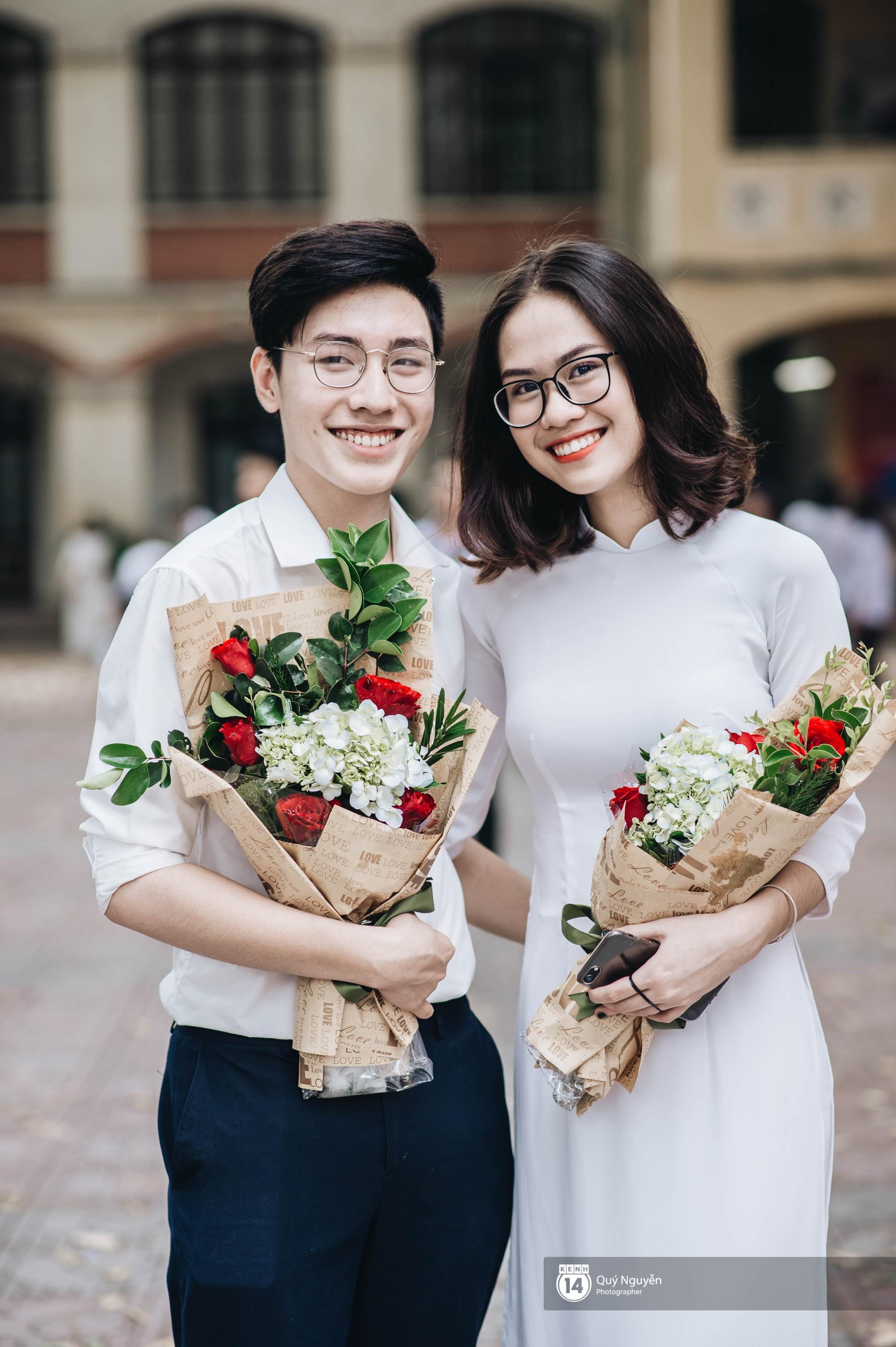 Đặc sản lễ bế giảng trường Phan Đình Phùng: Cả một trời trai xinh gái đẹp - Ảnh 5.