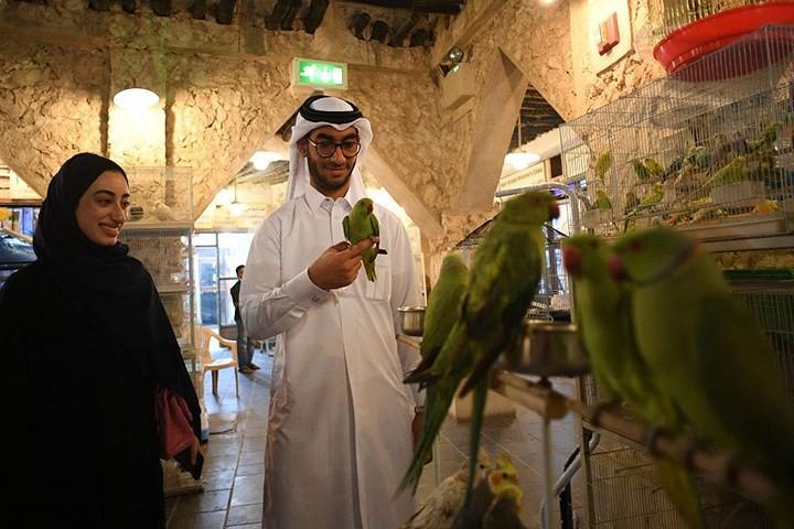 Hình ảnh đất nước Qatar hiện đại và đáng sống giữa sa mạc nóng bỏng - Ảnh 14.