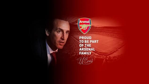 HLV Unai Emery tự hào là một thành viên của gia đình Arsenal - Ảnh 2.