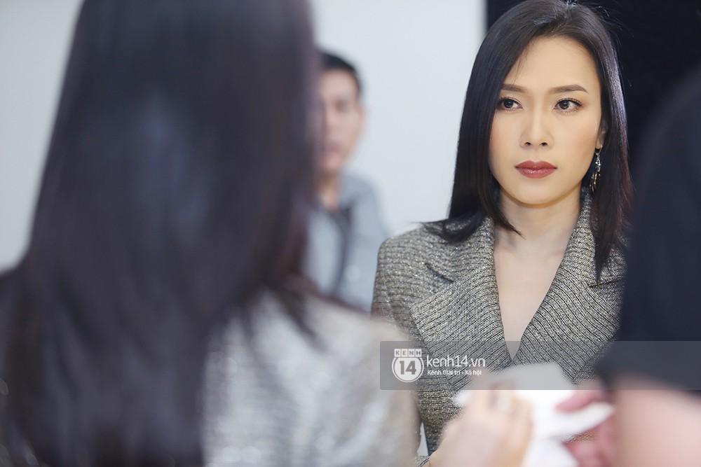 Đàm Vĩnh Hưng âu yếm hôn lên tóc Mỹ Tâm trong buổi ghi hình show thực tế mới - Ảnh 16.