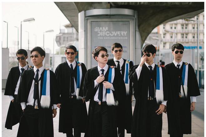 Ảnh tốt nghiệp sinh viên Thái Lan: Ngỡ như đang lạc vào thiên đường trai xinh gái đẹp - Ảnh 6.