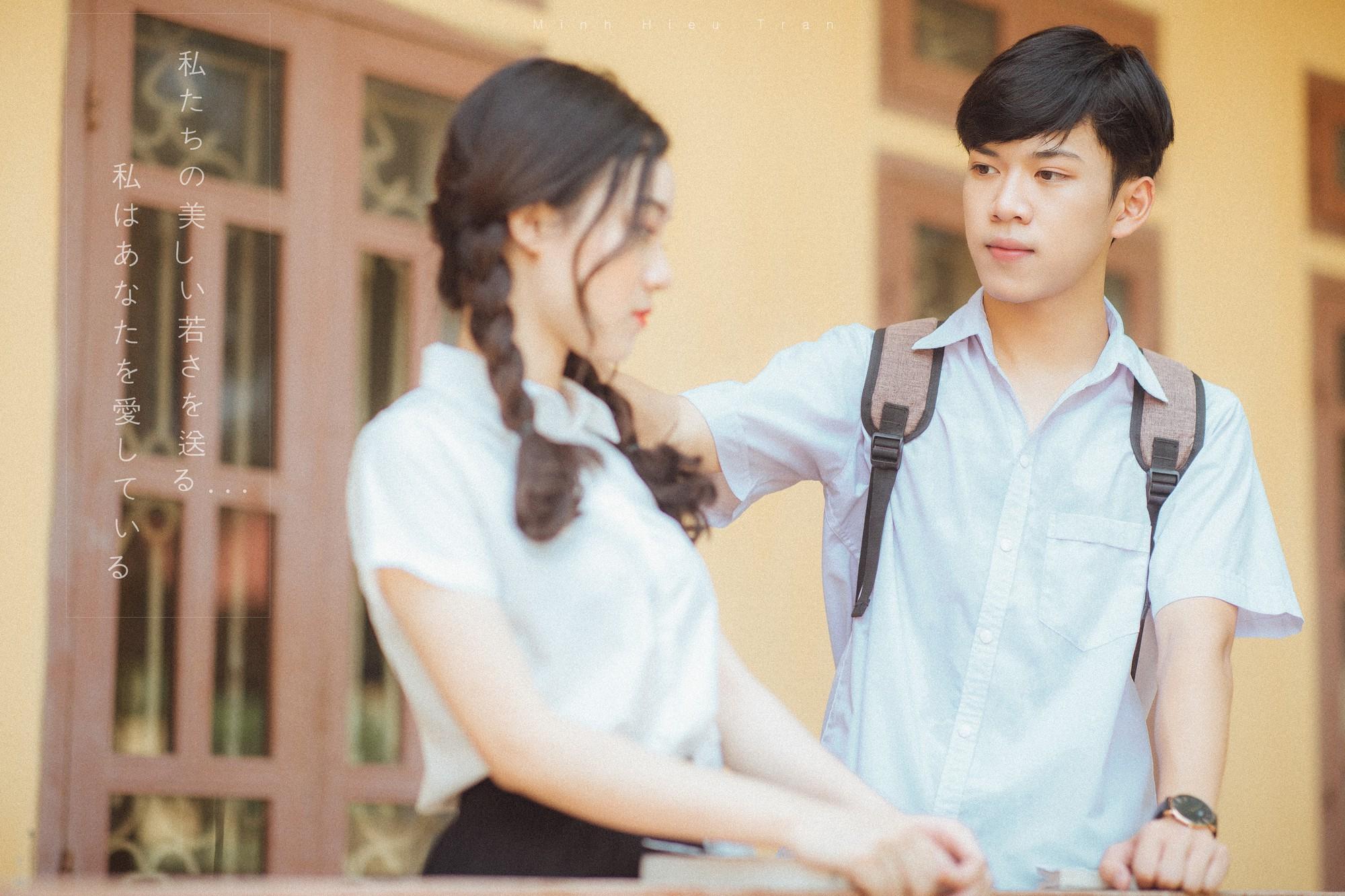 Bộ ảnh dắt em qua thanh xuân của đôi bạn học sinh giỏi: 17 tuổi, em đến bên tôi như định mệnh - Ảnh 8.