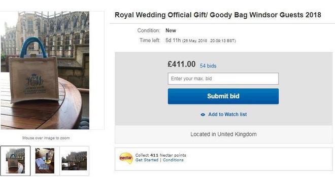 Bên trong túi quà cưới Hoàng gia Anh có gì đặc biệt mà lại được rao bán trên mạng với giá hơn 650 triệu đồng? - Ảnh 6.
