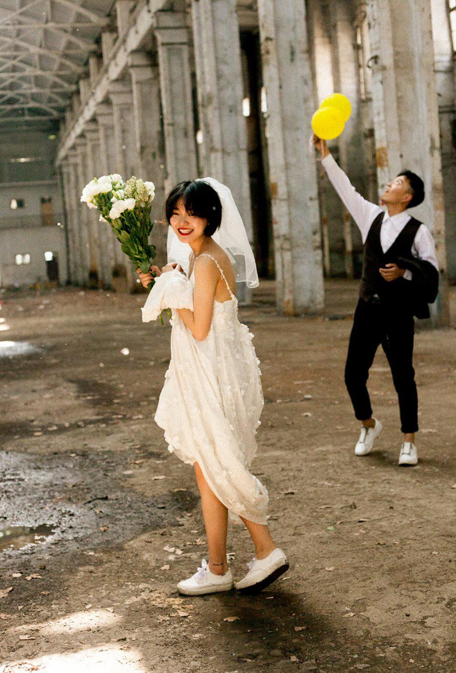 ... Bộ ảnh cưới m\u0026#249;a h\u0026#232; của c\u0026#244