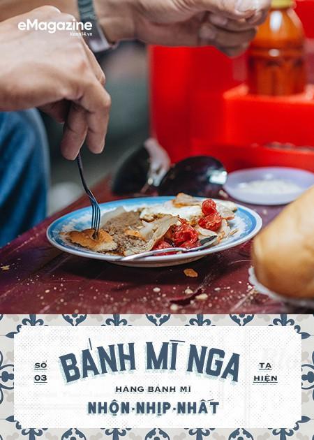 Bánh mì phố cổ Hà Nội: Ngon lành, giòn rụm những ổ bánh đã trở thành một phần văn hoá ẩm thực - Ảnh 4.