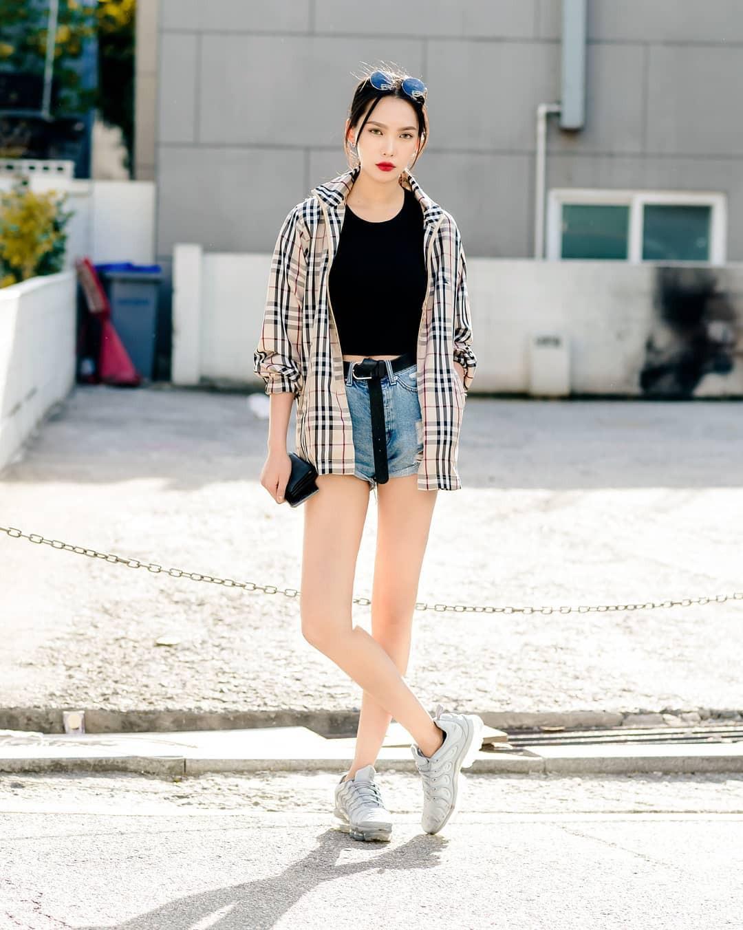 Chỉ diện toàn những món đồ mà ai cũng có sẵn nhưng giới trẻ Hàn vẫn hô biến nên street style quá đỉnh - Ảnh 3.