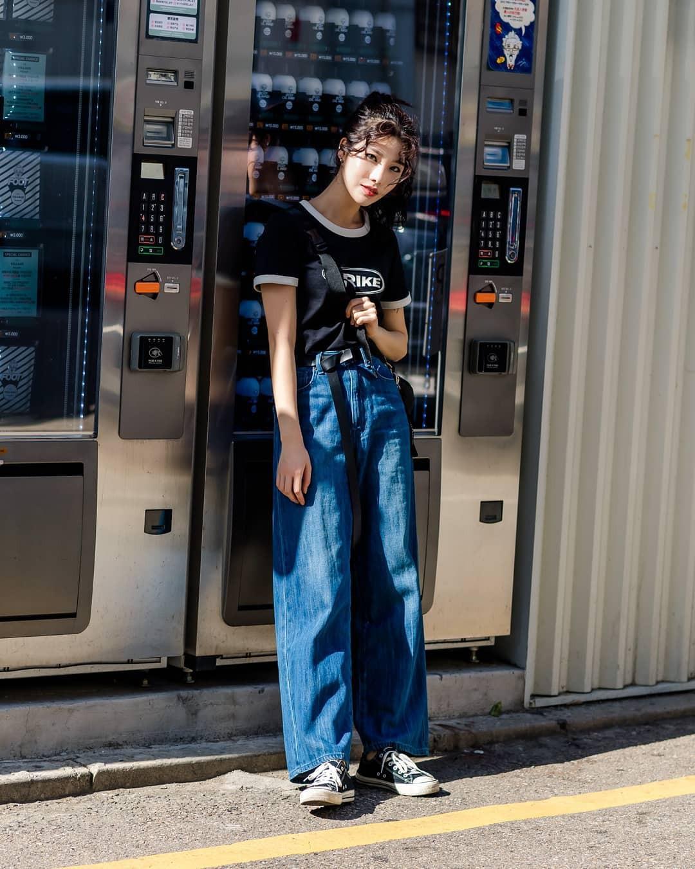 Chỉ diện toàn những món đồ mà ai cũng có sẵn nhưng giới trẻ Hàn vẫn hô biến nên street style quá đỉnh - Ảnh 5.