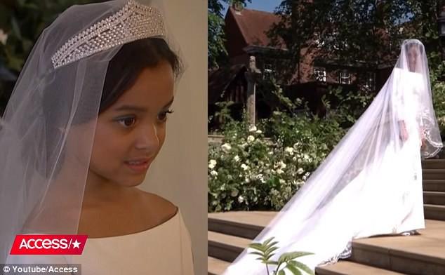 Cặp đôi nhí cosplay đám cưới Hoàng gia chuẩn đến từng bông hoa, nếp áo - Ảnh 3.